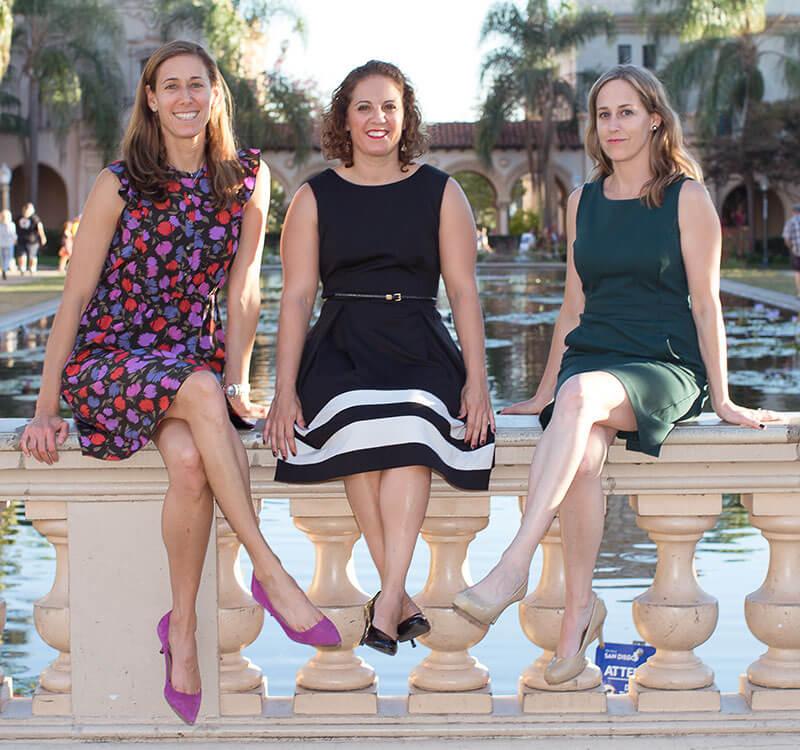 Our Attorneys: Stephanie Warren, Amanda Allen, and Hillery Stones